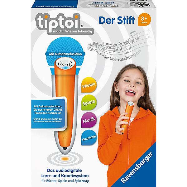 Tiptoi® Der Stift mit Aufnahmefunktion, tiptoi