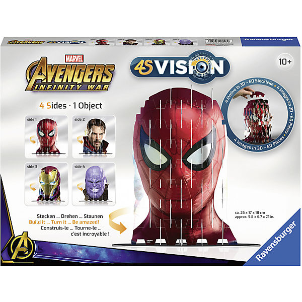 Puzzle 4S Vision Avengers Infinity War Iron Man & Co., Marvel Avengers