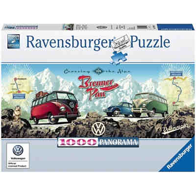 3d puzzle vw bus t1 surfer edition ravensburger mytoys. Black Bedroom Furniture Sets. Home Design Ideas