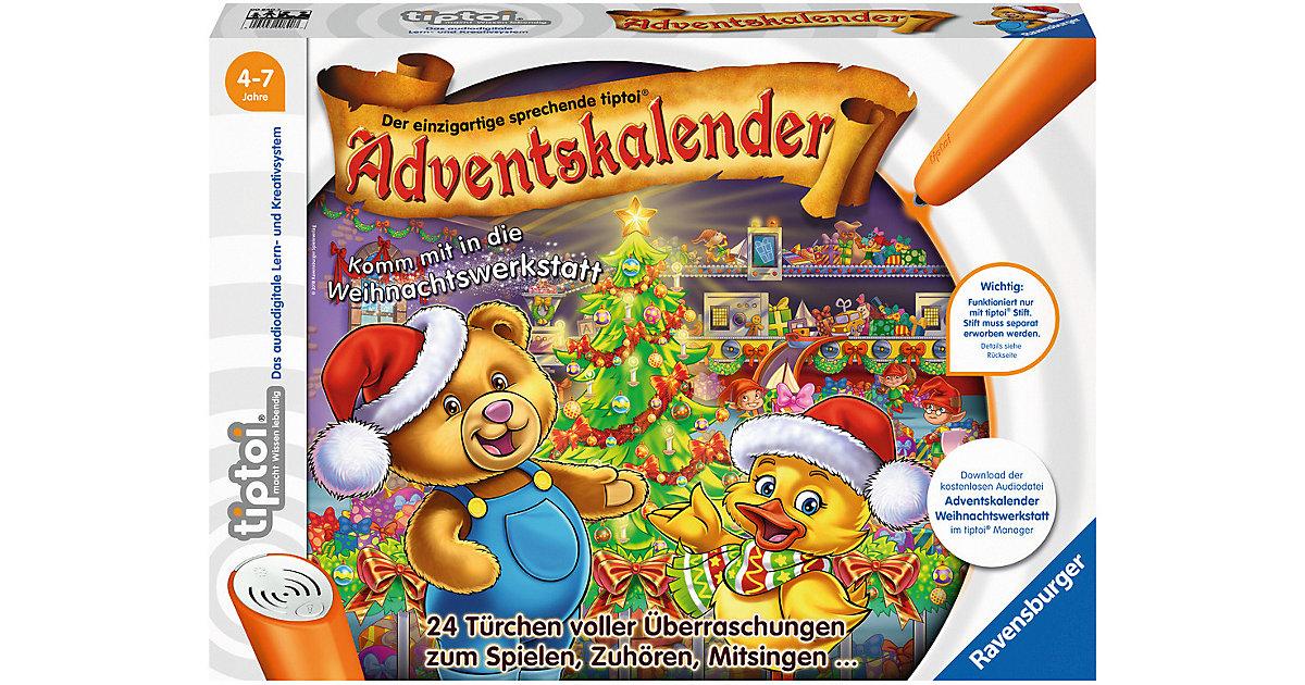 tiptoi® Adventskalender - Die Weihnachtswerkstatt (ohne Stift)