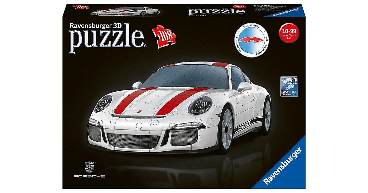 3D Puzzle Porsche 911 R 108 Teile
