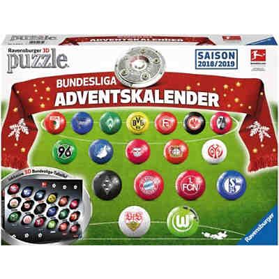 Bundesliga Adventskalender 2018 Puzzleball Mytoys