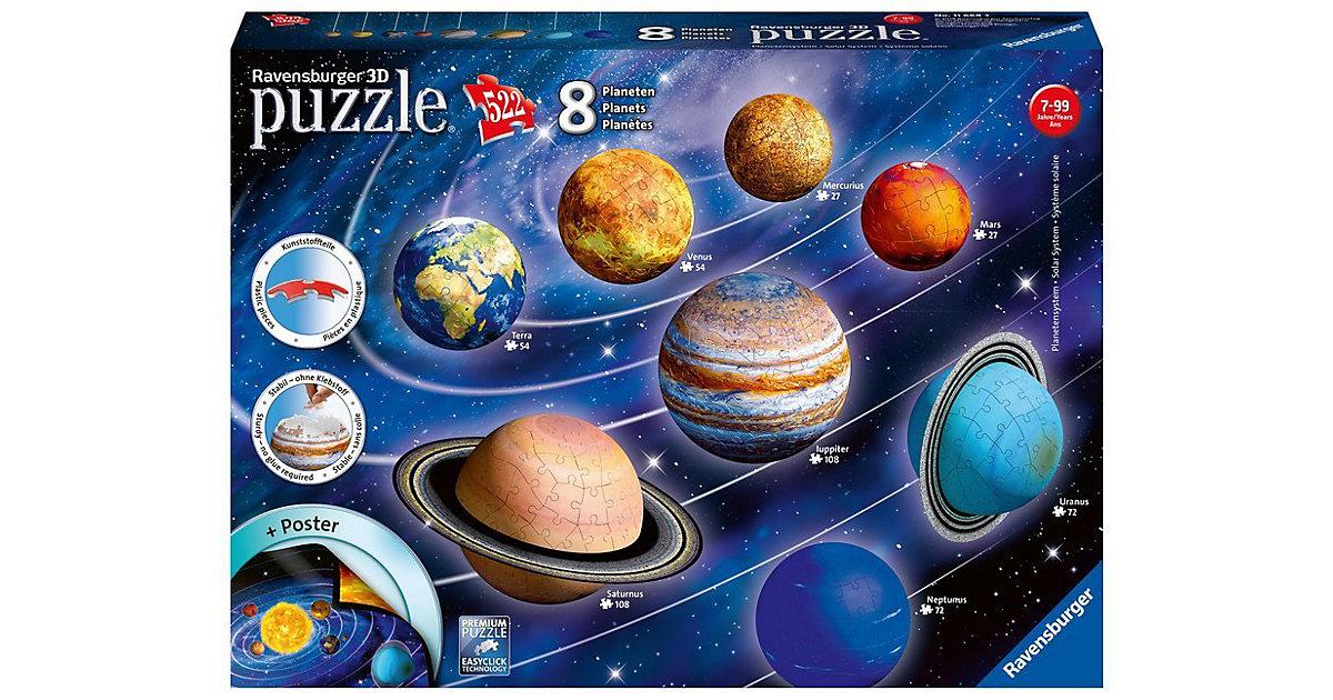 Ravensburger · puzzleball® Planetensystem mit 8 Planeten 27/54/72/108 Teile