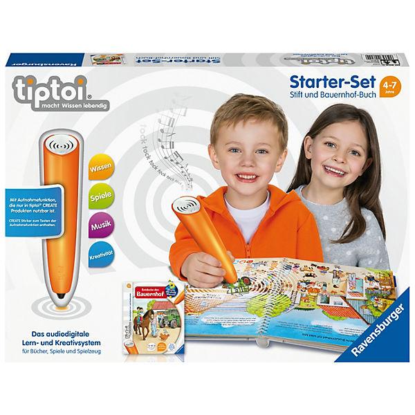 Tiptoi® Starter-Set: Stift mit Aufnahmefunktion und Bauernhof-Buch, tiptoi
