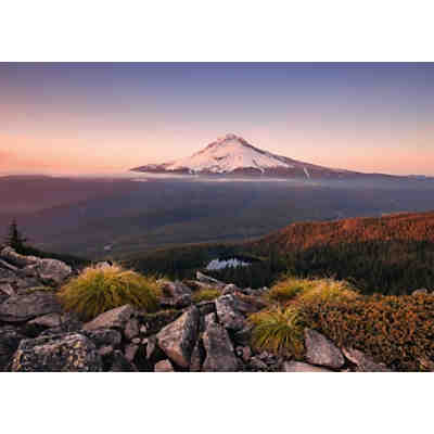 Puzzle 1000 Teile, 70x50 cm, Stratovulkan Mount Hood in Oregon, USA