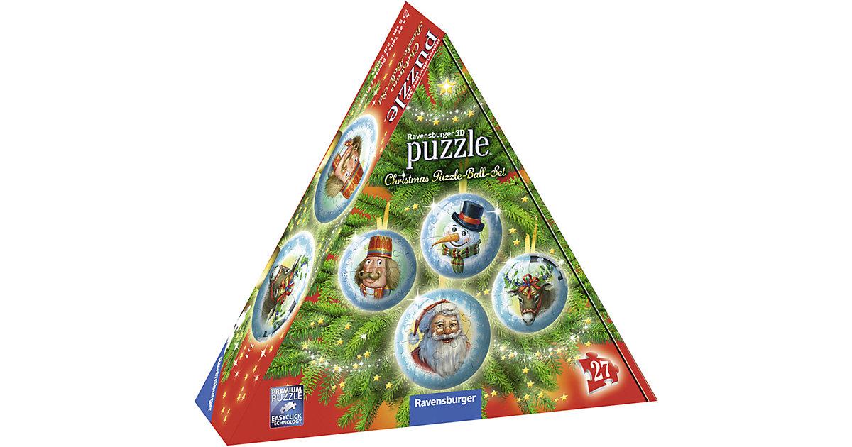 puzzleball® Christmas Set 4 x 27 Teile