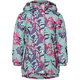Демисезонная куртка JICCO BY OLDOS Цветы