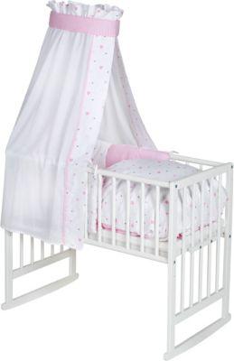 Krone rosa babybett krone wickelkommode kleiderschrank stubenwagen