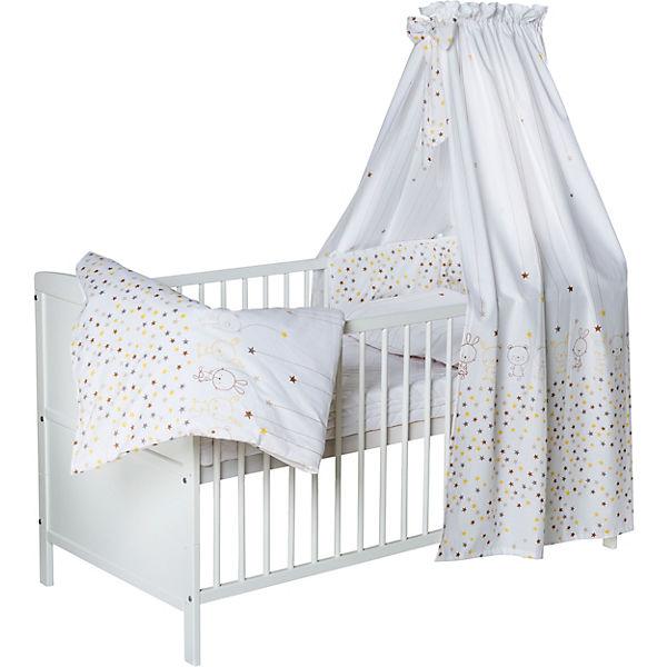 tweeto Babybett Kinderbett Baby 7-in-1 KOMPLETT-SET ...