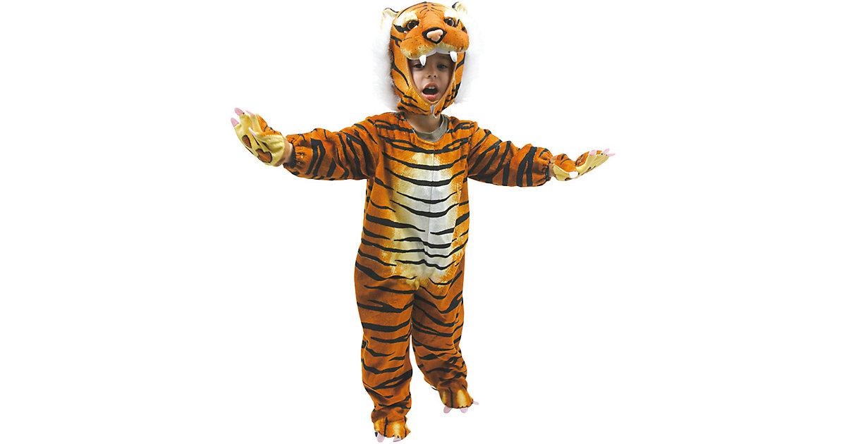 Kostüm Tiger, 4-tlg. bunt Gr. 98/110 Jungen Kleinkinder