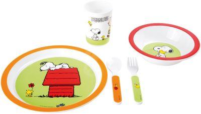 Set Kindergeschirr Peanuts Snoopy 5 tlg