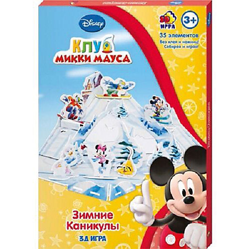 """Игра настольно-печатная Disney """"Зимние каникулы"""" от Disney"""