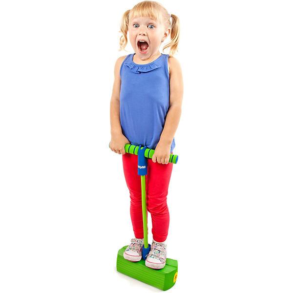 Тренажер для прыжков Moby-Jumper со звуком, оранжевый