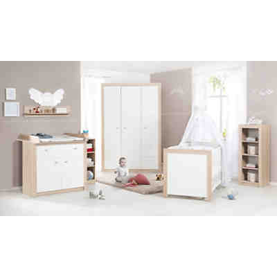 Komplett Kinderzimmer Leni 2, 3-tlg. (Kinderbett, Wickelkommode und ...