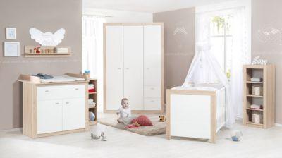 Komplett Kinderzimmer Leni 2, 3 Tlg. (Kinderbett, Wickelkommode Und  Kleiderschrank 2 ...