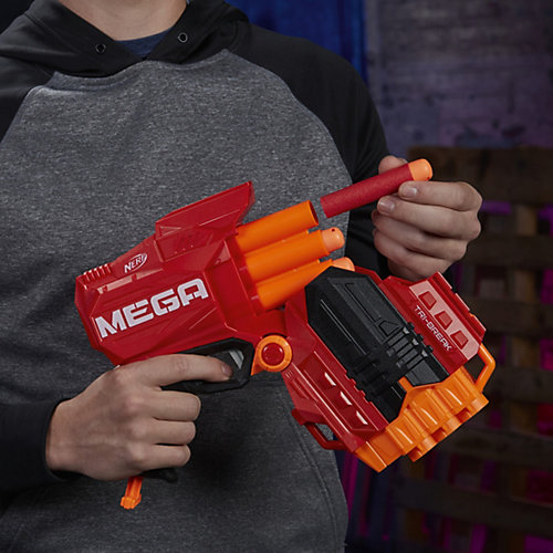 Бластер Nerf Мега Три-брейк от Hasbro