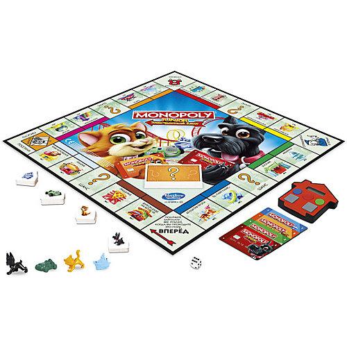 Настольная игра Hasbro Gaming Моя первая Монополия с банковскими картами от Hasbro