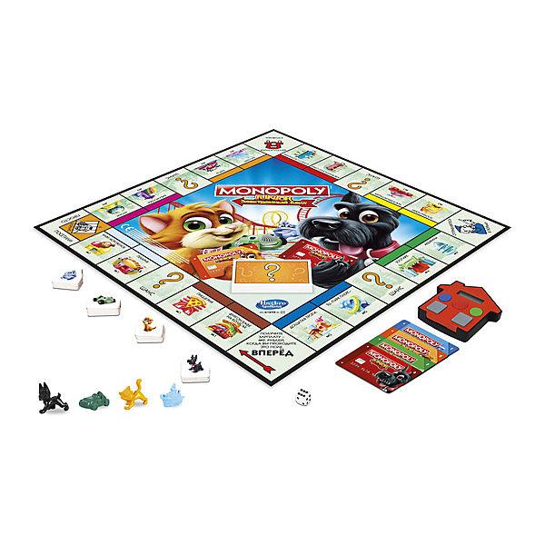 Настольная игра Hasbro Gaming Моя первая Монополия с банковскими картами