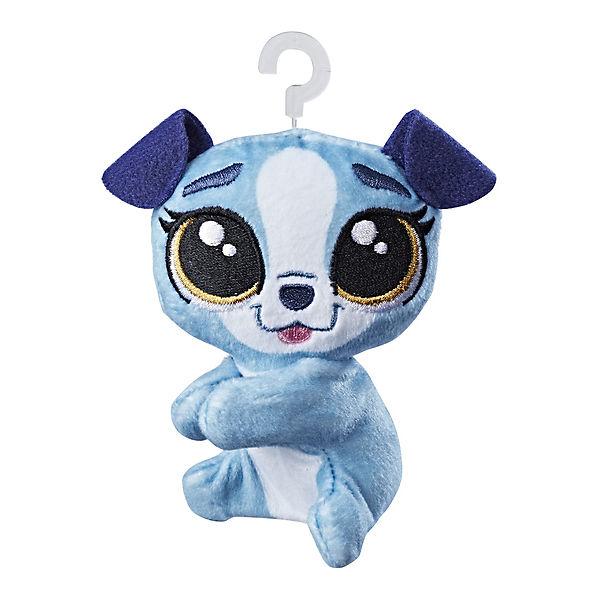Мягкая игрушка-прилипала Little Pet Shop, Собачка