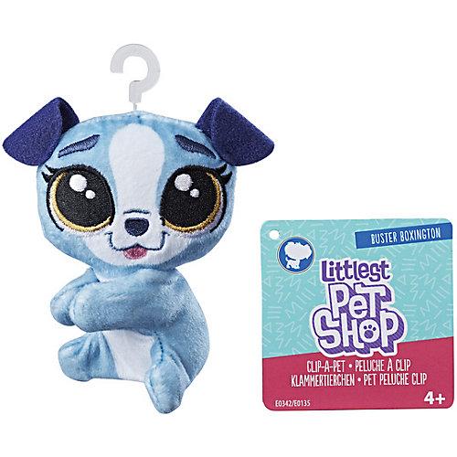 Мягкая игрушка-прилипала Little Pet Shop, Собачка от Hasbro