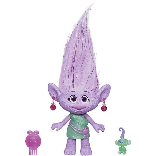 Фигурка Троллиc заколочками для волос, Гия от Hasbro