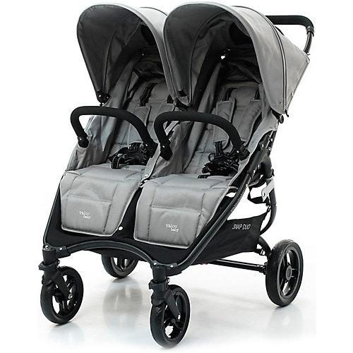 Прогулочная коляска для двойни Valco baby Snap Duo / Cool Grey от Valco Baby