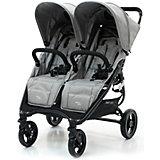 Прогулочная коляска для двойни Valco baby Snap Duo / Cool Grey