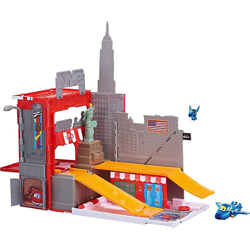 """Игровой набор Auldey """"Супер Крылья"""" Джером в Нью-Йорке от Giochi Preziosi"""