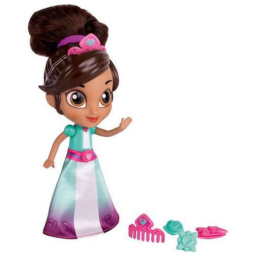 "Мини-кукла Gulliver ""Нелла - отважная принцесса"" Создай модный образ, Принцесса Нелла с аксессуарами, 12 см от Gulliver"