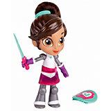 """Мини-кукла Gulliver """"Нелла - отважная принцесса"""" Создай модный образ, Рыцарь Нелла с аксессуарами, 12 см"""