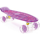 "Скейтборд PWSport Flash 22"",фиолетовый"