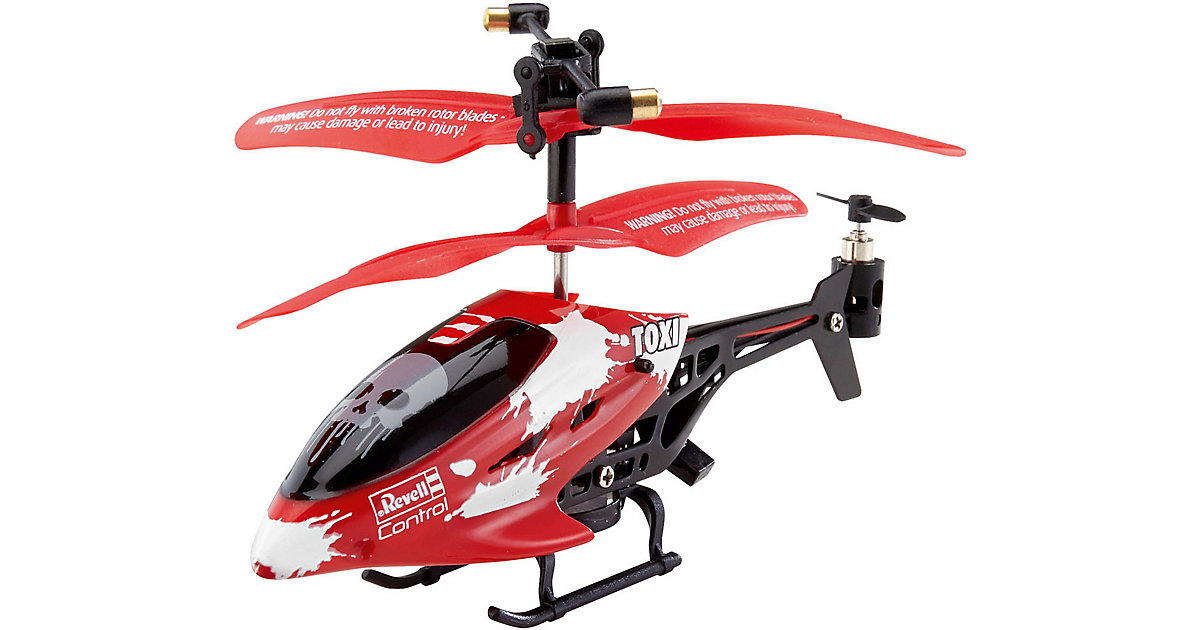 RC Helikopter TOXI rot
