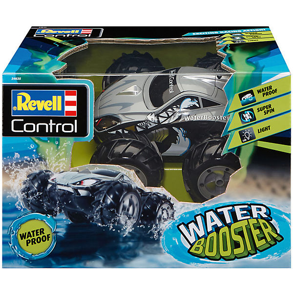 RC Stunt Auto WATER BOOSTER, Revell Control