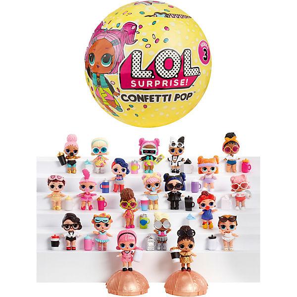 "Мини-кукла MGA Entertainment LOL Surprise ""Кукла-сюрприз ""Конфетти"" в шарике"", 3 серия"