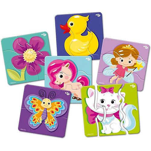 "Макси пазлы Baby Toys зигзаг ""Для принцесс"", 18 элементов от Baby Toys"