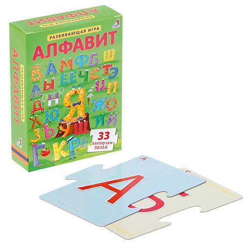 """Развивающие карточки-пазлы """"Алфавит NEW"""", Робинс от Робинс"""