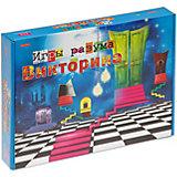 """Настольнаня игра Рыжий кот """"Викторина. Игры разума"""", 200 карточек"""