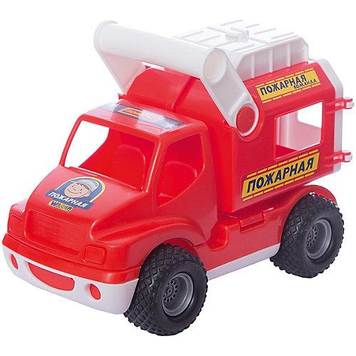 """Машинка Полесье """"КонсТрак"""" Пожарная команда, в коробке от Полесье"""