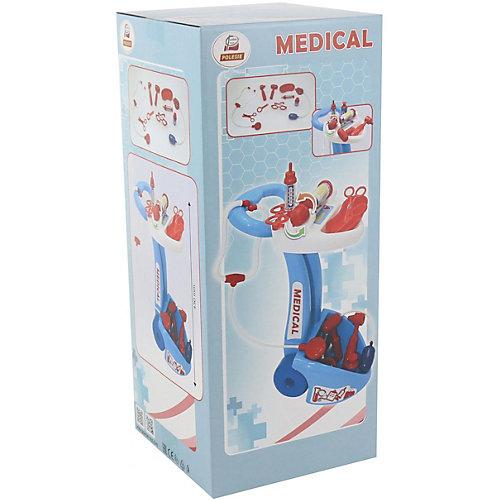 """Игровой набор Полесье """"Доктор №10"""" 10 предметов, в коробке от Полесье"""