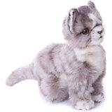 Мягкая игрушка Hansa Котенок серый, 19 см