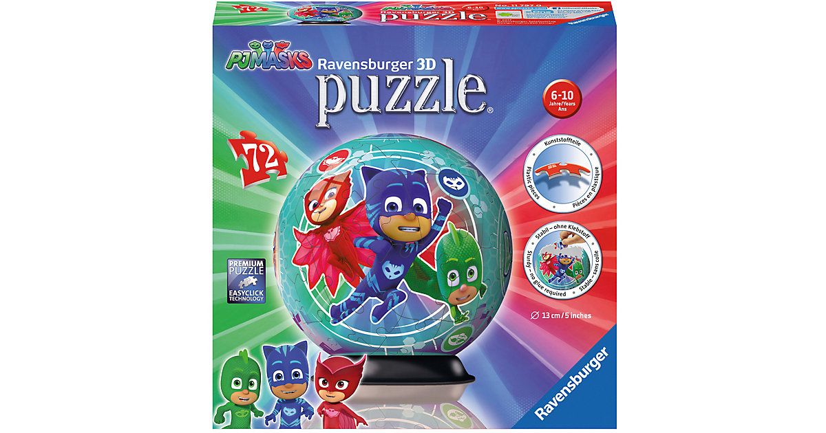 puzzleball® PJ Mask 72 Teile