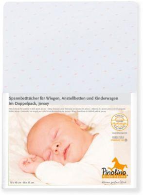 Zöllner Spannbetttuch Frottee 70X140 60X120 WEISS