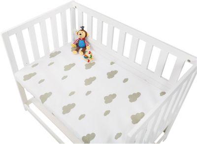Passend f/ür 90 x 40 Babybett Matratze Jersey 100/% Baumwolle Spannbettt/üch