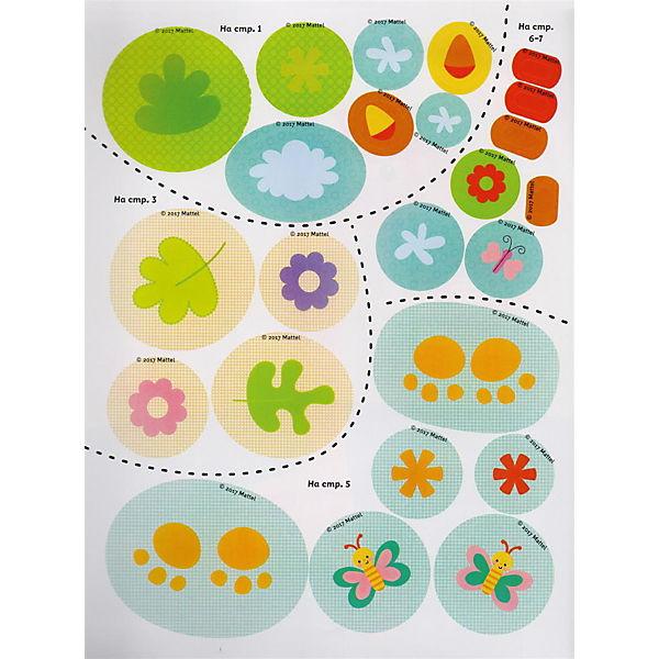 """Большая раскраска с наклейками для малышей """"Fisher Price"""", 50 наклеек"""