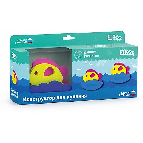 """Конструктор для купания El`Basco Toys """"Семейство рыбок"""", 18 деталей от El`Basco Toys"""