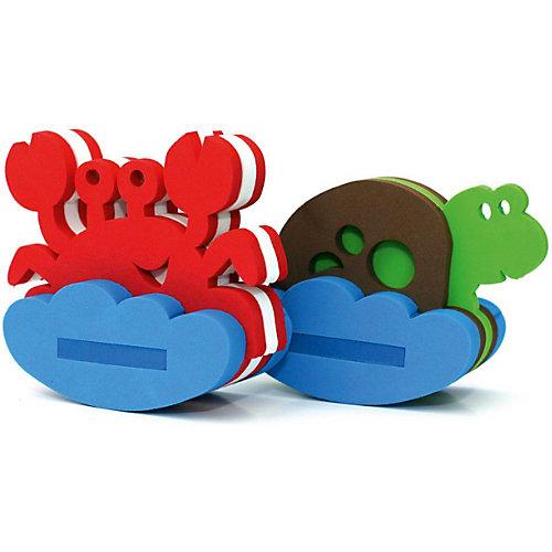 """Конструктор для купания El`Basco Toys """"Краб и черепаха"""", 12 деталей от El`Basco Toys"""