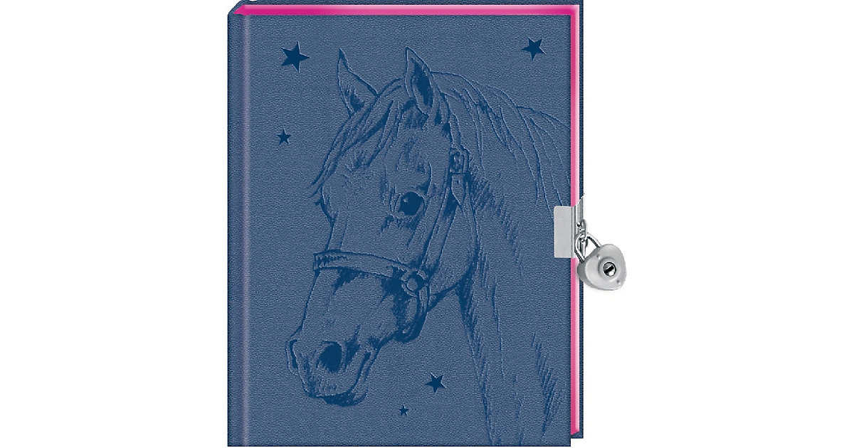 COPPENRATH · Pferdefreunde: Mein Tagebuch (blau)