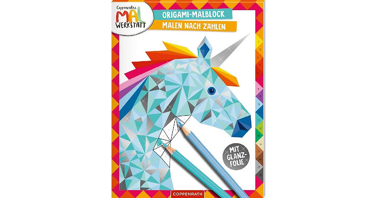 Coppenraths Mal-Werkstatt: Origami-Malblock - M...
