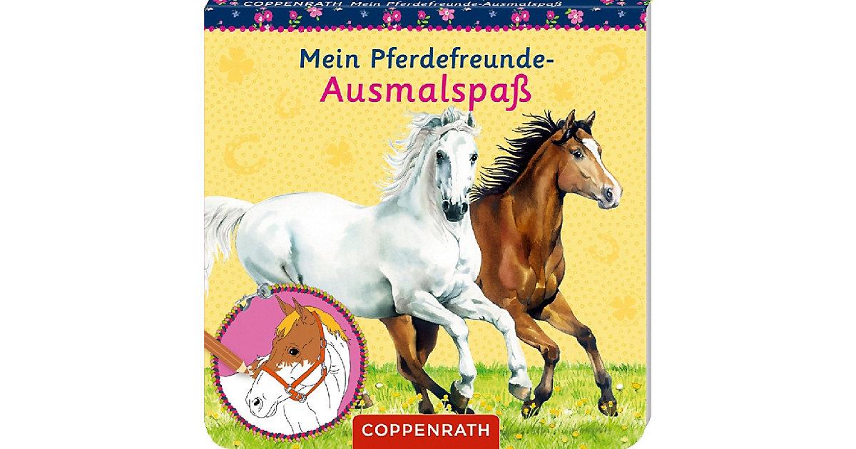 Mein Pferdefreunde-Ausmalspaß