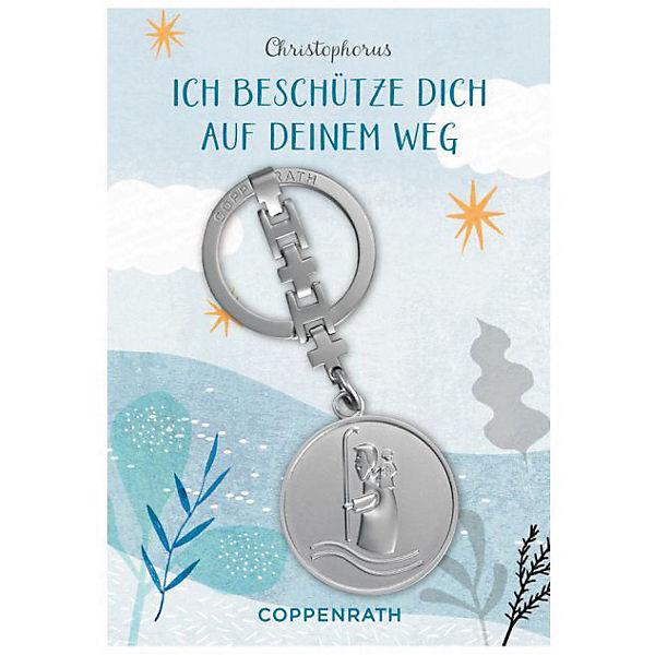 Christophorus-Schlüsselanhänger - Ich beschütze dich auf deinem Weg, Coppenrath Verlag